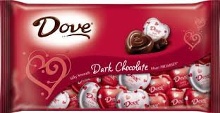 Dove Dark Chocolate Hearts
