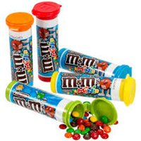 M&M's Minis Milk Chocolate Candy Filled Tube