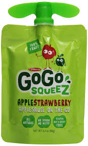 GoGo squeeZ Shelf Ready Tray - Apple Strawberry