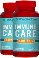Piping Rock Immune Care 2 Bottles x 60 Capsules