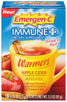 Emergen-C Immune+ Warmers Apple Cider