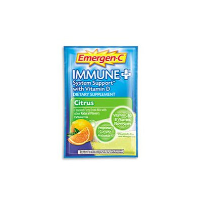 Emergen-C Immune+ System Support* with Vitamin D Citrus