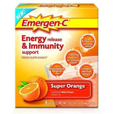 Emergen-C Energy Release & Immunity Support Super Orange