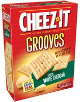 Cheez-It Grooves™ Sharp White Cheddar