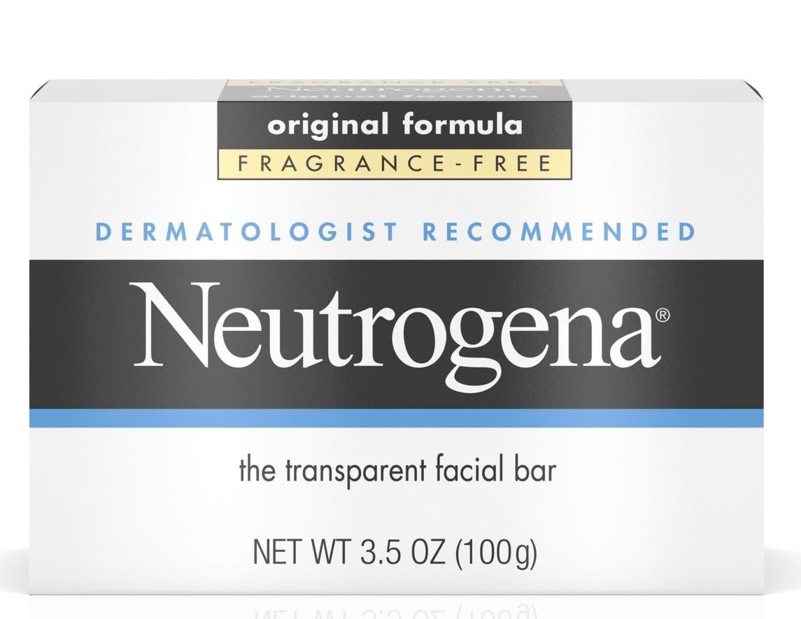 Neutrogena® Fragrance Free Facial Cleansing Bar