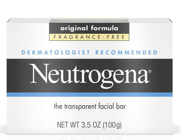 Neutrogena® Fragrance Free Facial Cleansing Bar