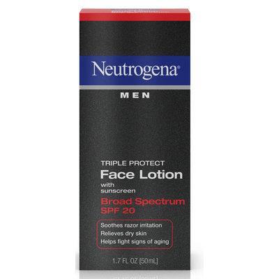 Neutrogena® Men Triple Protect Face Lotion Broad Spectrum SPF 20