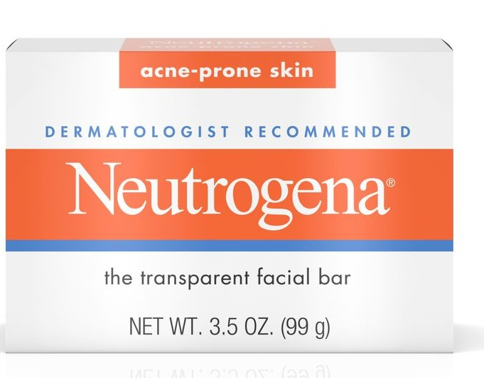 Neutrogena® Facial Cleansing Bar For Acne-prone Skin