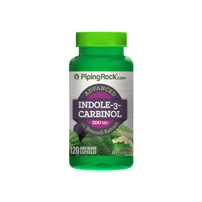 Piping Rock Indole-3-Carbinol 200mg 120 Capsules