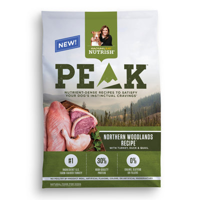 Rachael Ray™ Nutrish® PEAK Northern Woodlands Recipe™ with Turkey, Duck & Quail