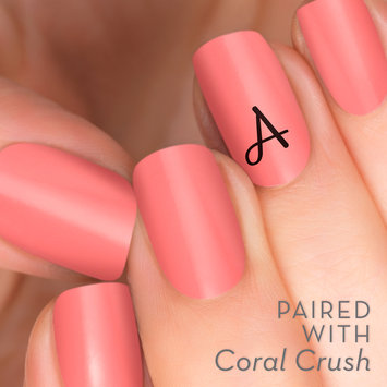 Incoco.com Incoco Initial Accent Nail Strips