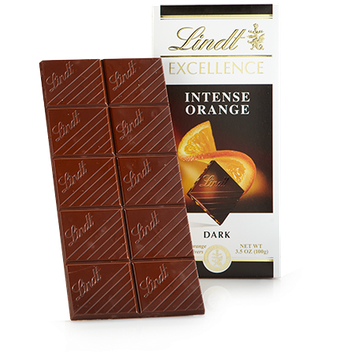 Lindt Intense Orange Excellence Bar
