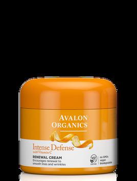 Avalon Organics Intense Defense With Vitamin C Renewal Cream