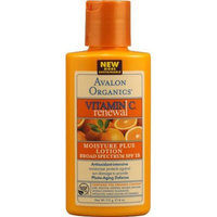 Avalon Organics Vitamin C Renewal Moisture Plus Lotion SPF 15