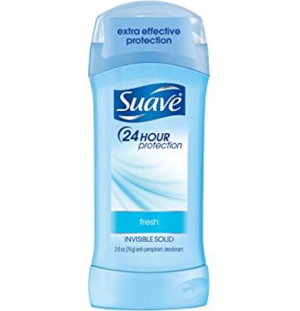 Suave® Fresh Invisible Solid Antiperspirant Deodorant