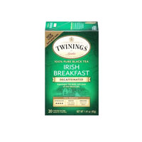 TWININGS® OF London Decaffeinated Irish Breakfast Tea Bags