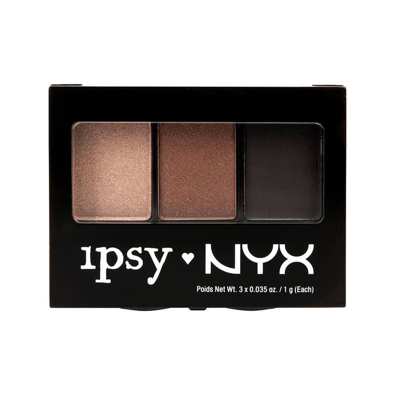IPSY NYX 3 Color Eyeshadow Palette Neutral Trio