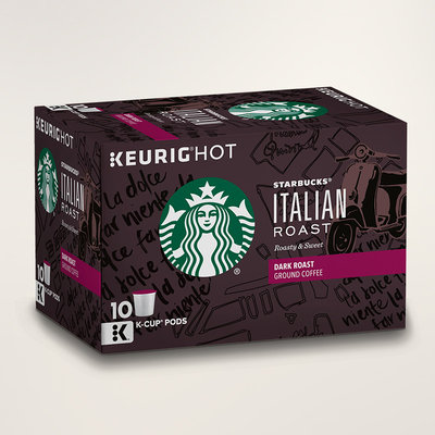 STARBUCKS® Italian Roast Roasty & Sweet K-Cups®