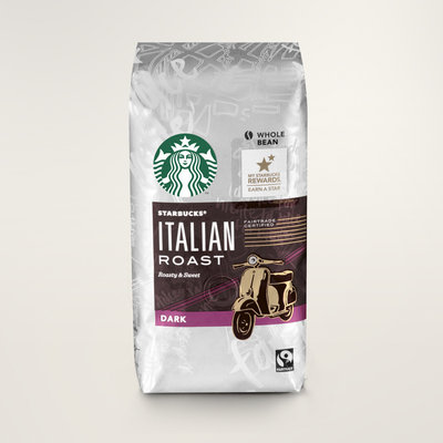 STARBUCKS® Italian Roast Roasty & Sweet Whole Bean