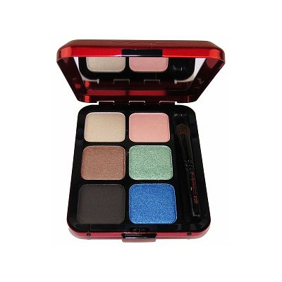 M.A.C Cosmetics Poppy Devoted 6 Shades Eyeshadow Palette