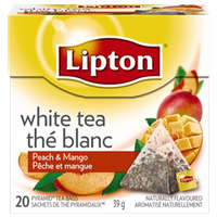 Lipton® White Tea with Island Mango & Peach