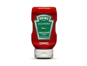Heinz® Ketchup Blended With Real Jalapeño