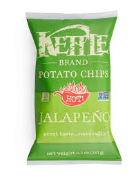 Kettle Brand® Jalepeno  Potato Chips