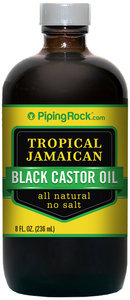 Piping Rock Jamaican Black Castor Oil 8 fl oz