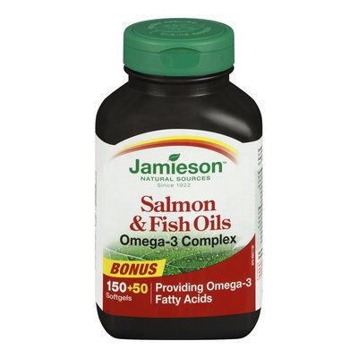 Jamieson Salmon & Fish Oils Omega-3 Complex Bonus Pack