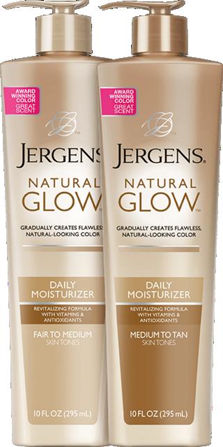 JERGENS® Natural Glow® Daily Moisturizer