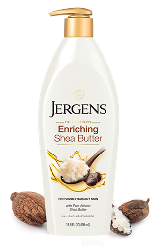 JERGENS® Shea Butter Deep Conditioning Moisturizer