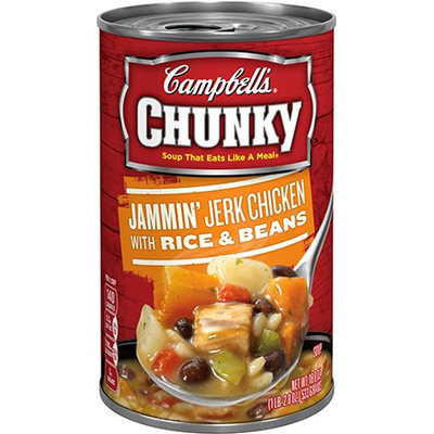 Campbells Campbell's Chunky Jammin' Jerk Chicken with Rice & Beans Soup