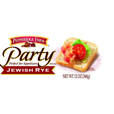 Pepperidge Farm® Party Bread Jewish Rye Loaf