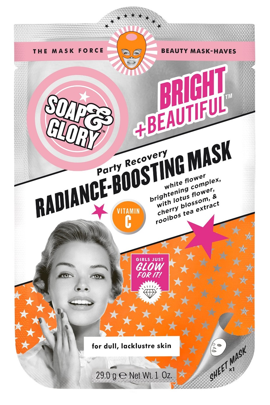 Soap & Glory Bright & Beautiful Radiance Boosting Mask