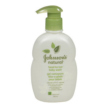 Johnson's Natural Head-to-toe Baby Wash 266mL