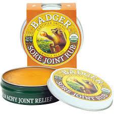 Badger Balm Organic Sore Joint Rub