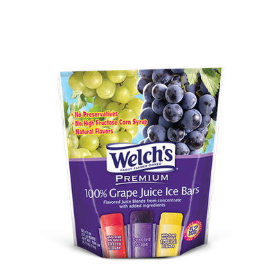 Welch's® 100% Juice Ice Bars