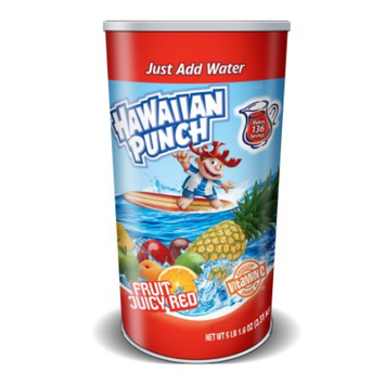 Hawaiian Punch Fruit Juicy Red Canister