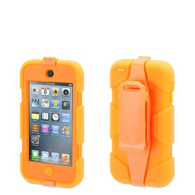 Griffin Technology - Survivor Case for 5th-Generation Apple iPod touch - Orange