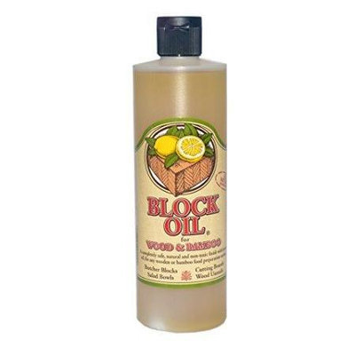 Homewood/block Bros. Group Block Oil - Non Toxic Bamboo and Wood Oil Finish