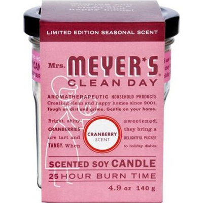 Mrs. Meyer's Clean Day Scented Soy Candle Cranberry