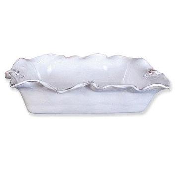 Abigail's Abigails Fleur De Lis White Casserole Dish, Rectangle
