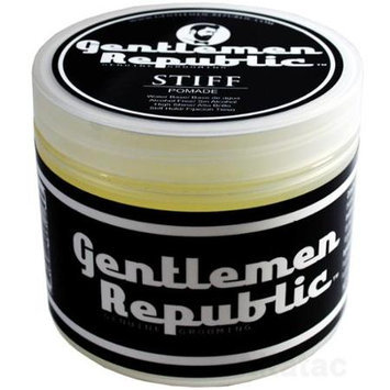 Gentlemen Republic .4oz Grooming Alcohol Free Water Based Stiff Hair Pomade