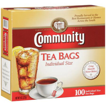 Community Coffee Community Tea Bags - Individual Sized - 100ct Box