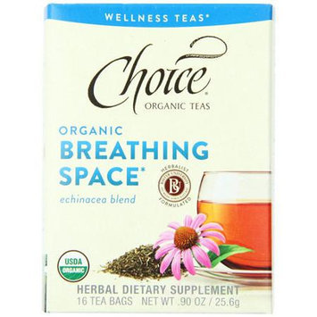 Choice Organic Breathing Space Tea (6x16bags)