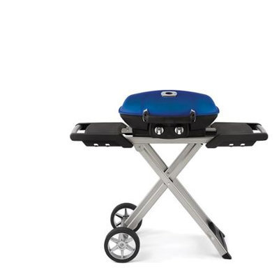 Wolf Steel Usa Inc Napoleon TravelQ 285 Portable Propane Grill with Scissor Cart