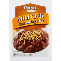 Great Value: Mild Chili Seasoning Mix, 1.25 oz