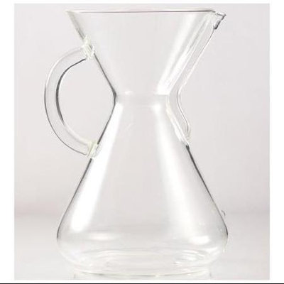 Chemex Classic Series Glass Coffeemaker with Handle, 10 cup capacity
