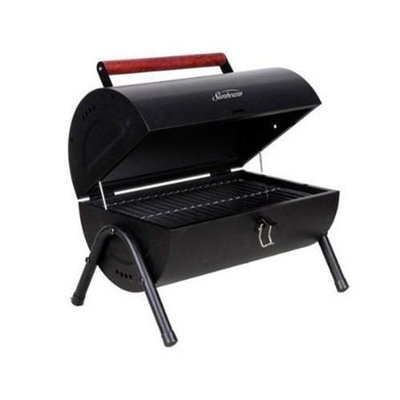 Gibson Delwin Charcoal Barrel BBQ Grill