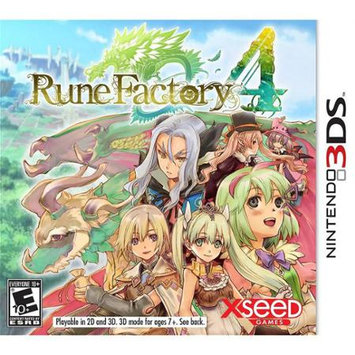 Xseed Gaming Rune Factory 4 - Xseed Jks Inc